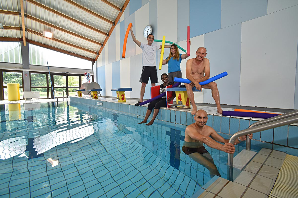 L'équipe de la piscine de Noidans